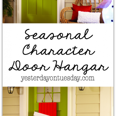 Seasonal Character Door Hangar