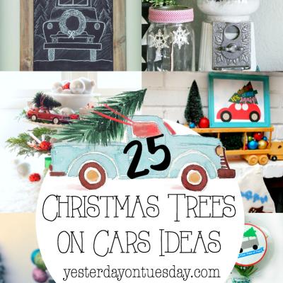 25 Christmas Trees on Cars Ideas