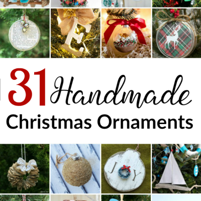 31 Christmas Ornaments to Make Now
