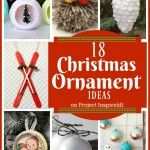 Christmas Ornament Ideas: A collection of gorgeous handmade Christmas ornament ideas to make!