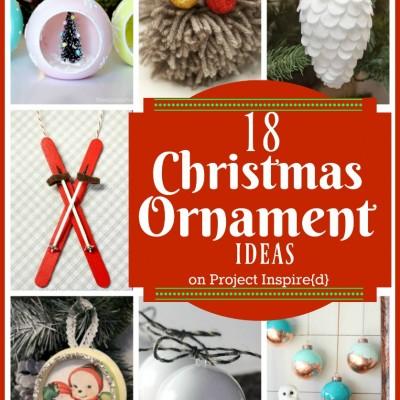 18 Christmas Ornament Ideas