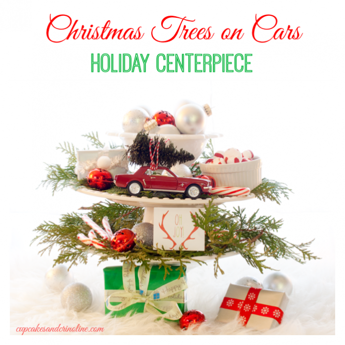 christmas-trees-on-cars-holiday-centerpiece-from-cupcakesandcrinoline-com_