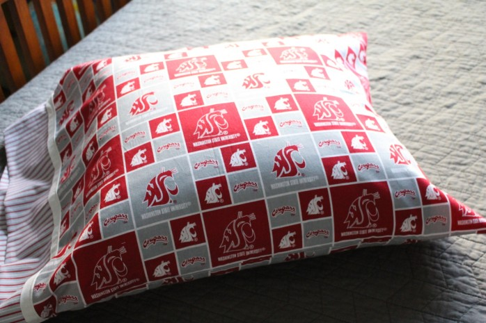 DIY Cougar Pillowcase