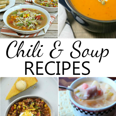 14 Delicious Chili and Soup Recipes
