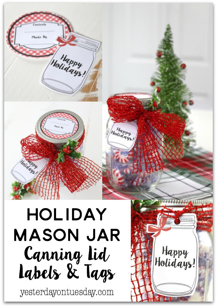 Holiday Mason Jar