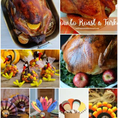 16 Thanksgiving Recipes and Crafts