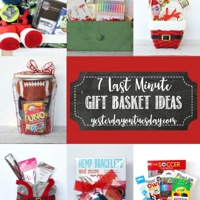 7 Last Minute Gift Basket Ideas