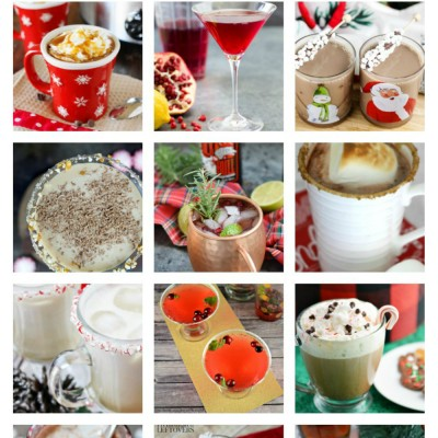 A Dozen Festive Holiday Drinks