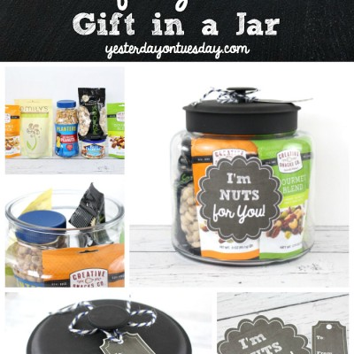 I'm NUTS About You Gift in a Jar