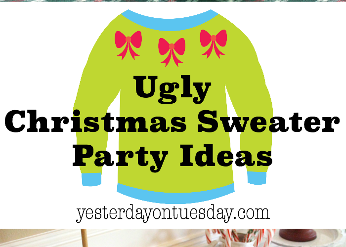 Ugly Christmas Sweater Party: Fun and festive ideas for throwing a great holiday party.