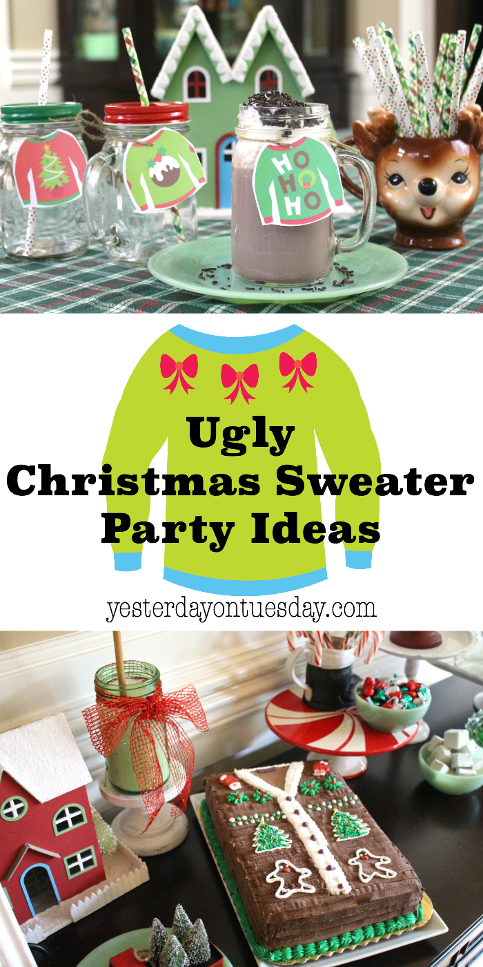 Ugly Christmas Sweaters Party Ideas Part - 32: Ugly Christmas Sweater Party: Fun And Festive Ideas For Throwing A Great  Holiday Party.