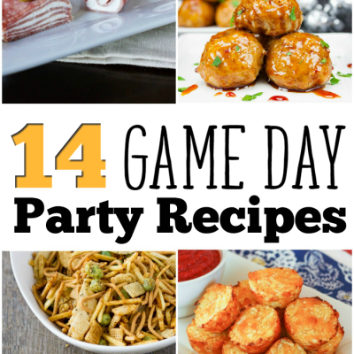14 Game Day Party Recipes