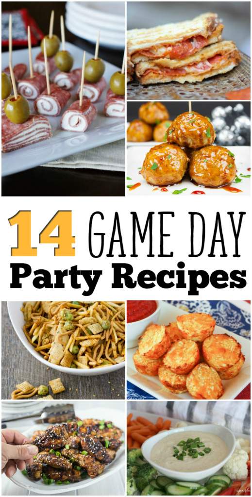 14 Game Day Party Recipes: Get ready for the Big Game with these great recipes for meatballs, sandwiches, dip and more!