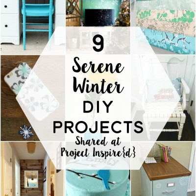 9 Serene Winter DIY Projects