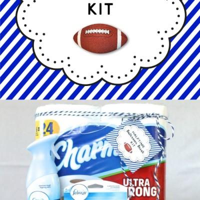 Prepping for The Big Game: Halftime Bathroom Break Kit