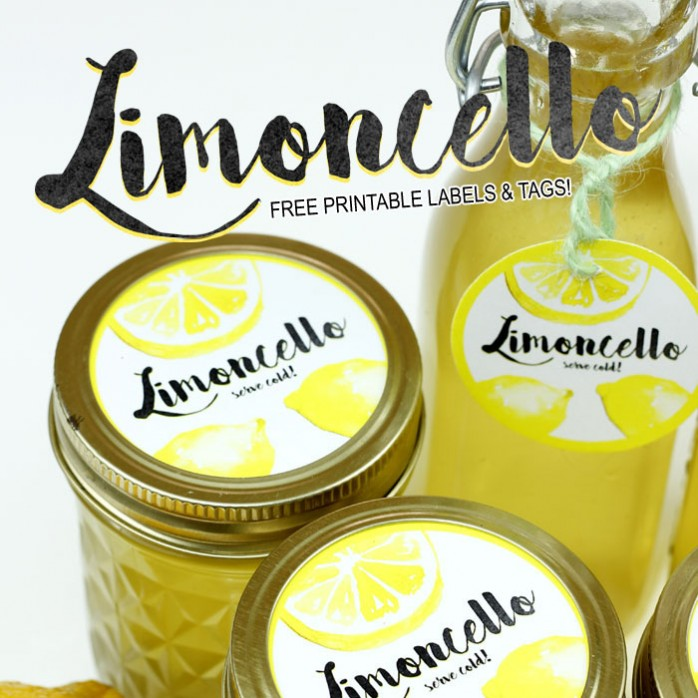 Limoncello in a Mason Jar