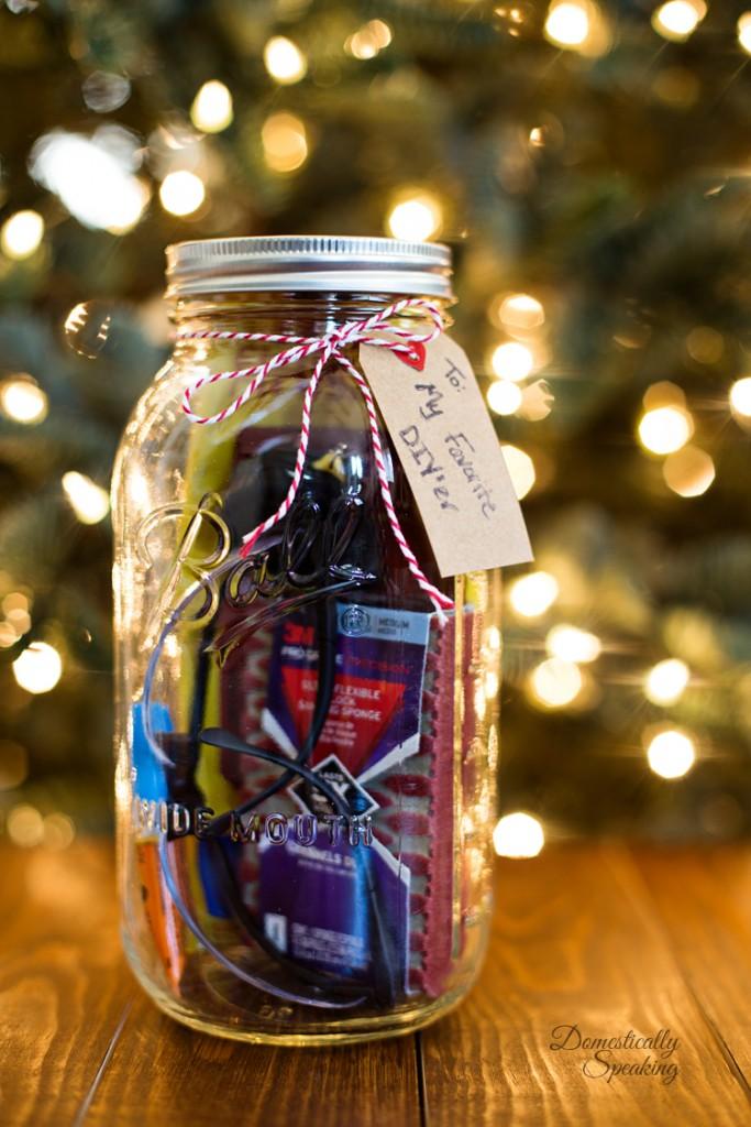 Mason Jar DIY Gift Idea