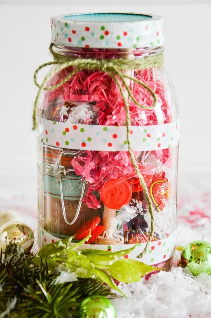 Tea Lovers Mason Jar Gift