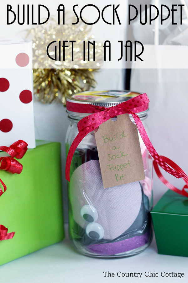 Build a Sock Puppet Gift