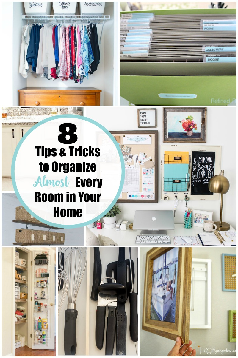 8 Tips and Tricks for Organizing Your Home | Yesterday On Tuesday