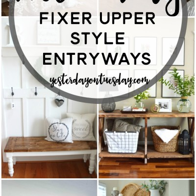 9 Cozy Fixer Upper Style Entryways