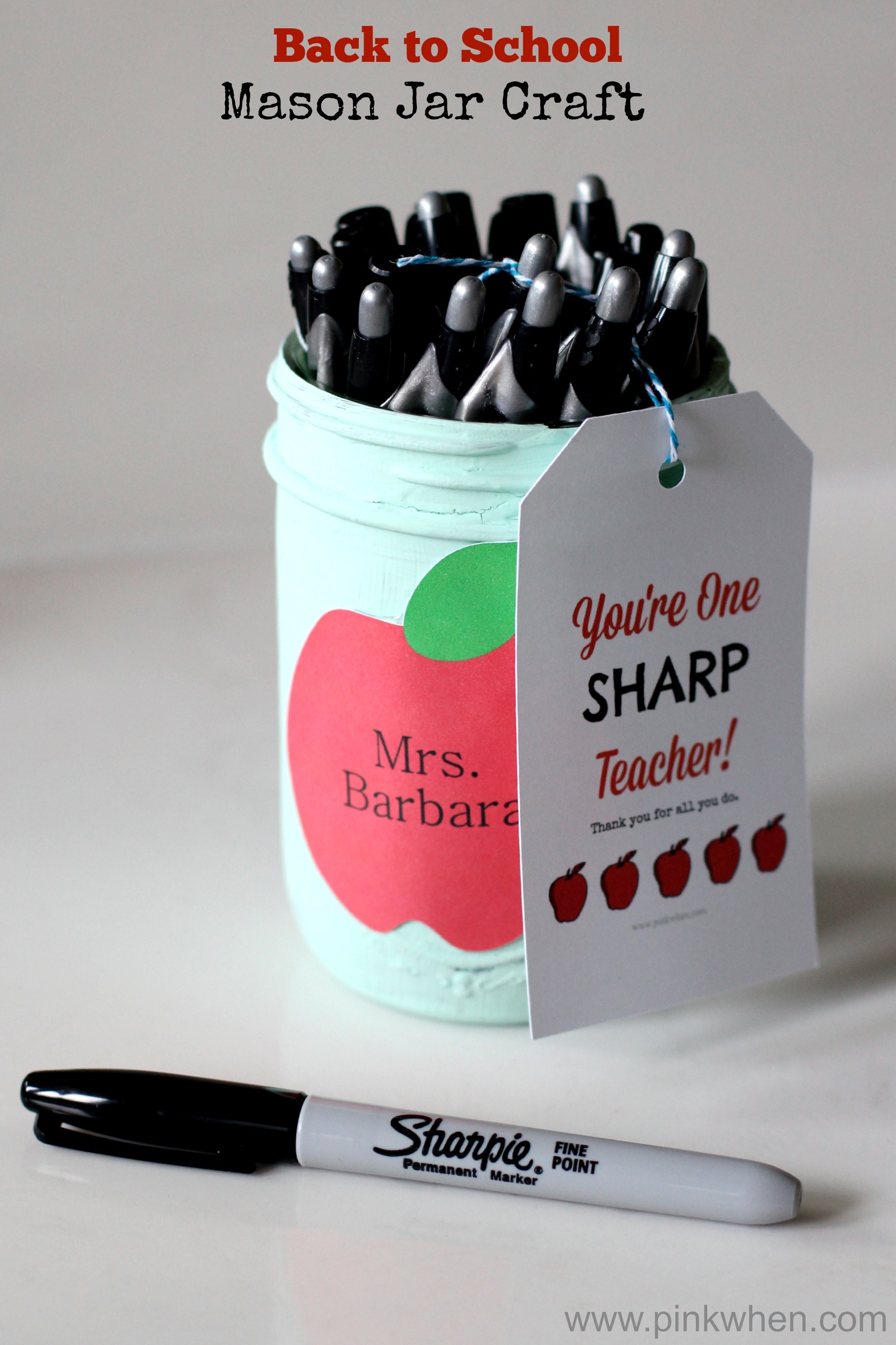 Teacher Gift For Christmas: A Dozen Mason Jar Gifts For Teachers