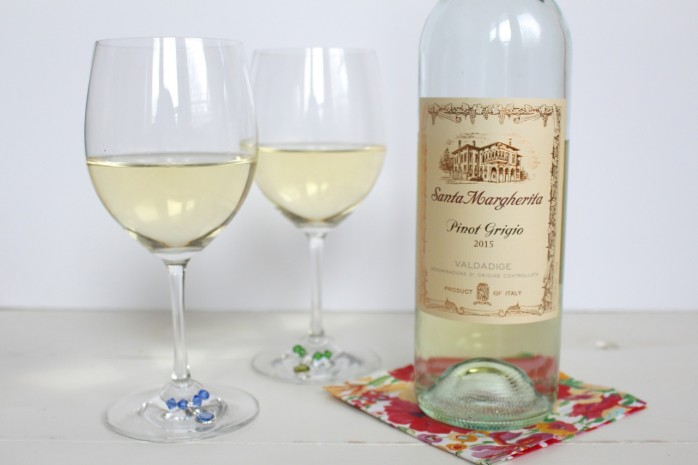 DIY Wine Charms: How to make simple wine charms for a fun girl's night in with wine!