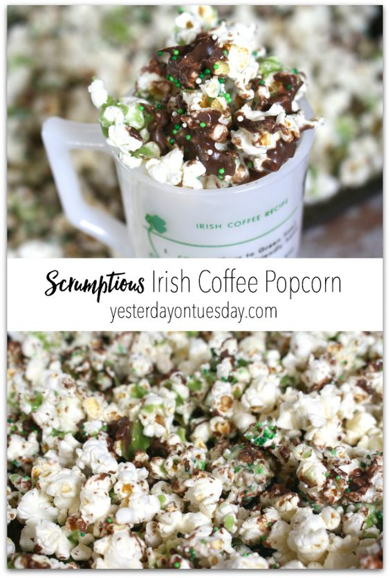 Irish Coffee Popcorn