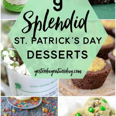 9 Splendid St. Patrick's Day Desserts