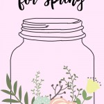 20 Fresh Mason Jar Ideas for Spring: Brand new jar projects for Easter, St. Patrick's Day, the home, gift ideas and organizing hacks!
