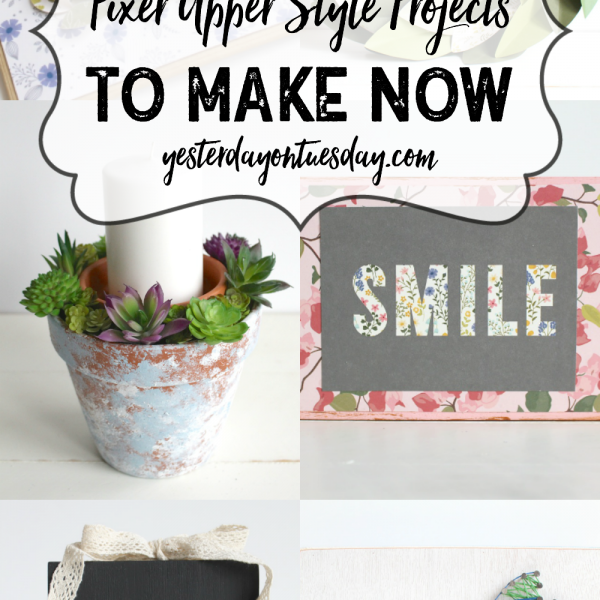 7 Fixer Upper Style Projects to Make Now