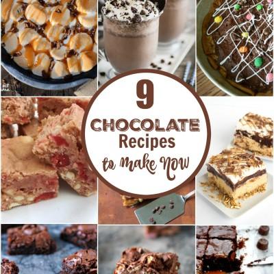 9 Chocolate Recipes
