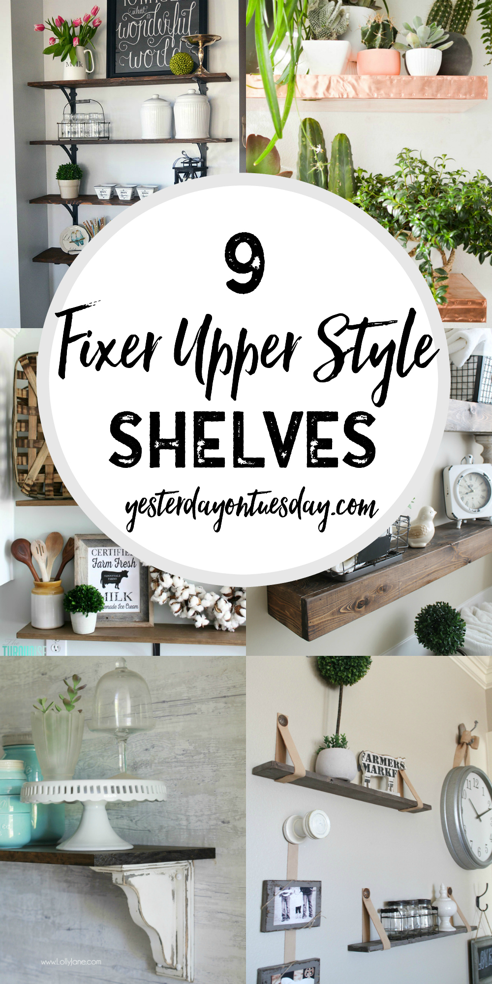 Magnificent 9 Fixer Upper Style Shelves Yesterday On Tuesday Interior Design Ideas Ghosoteloinfo