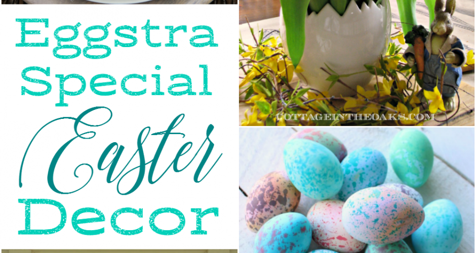 Egg Themed Easter Decor