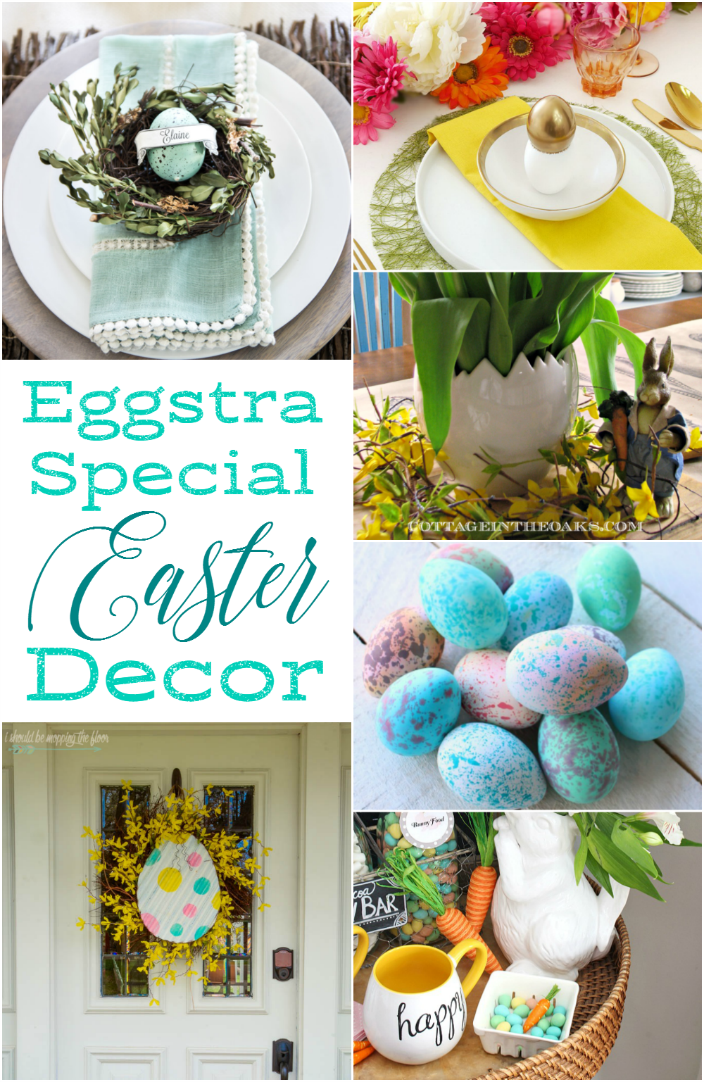 Egg Decor for Easter