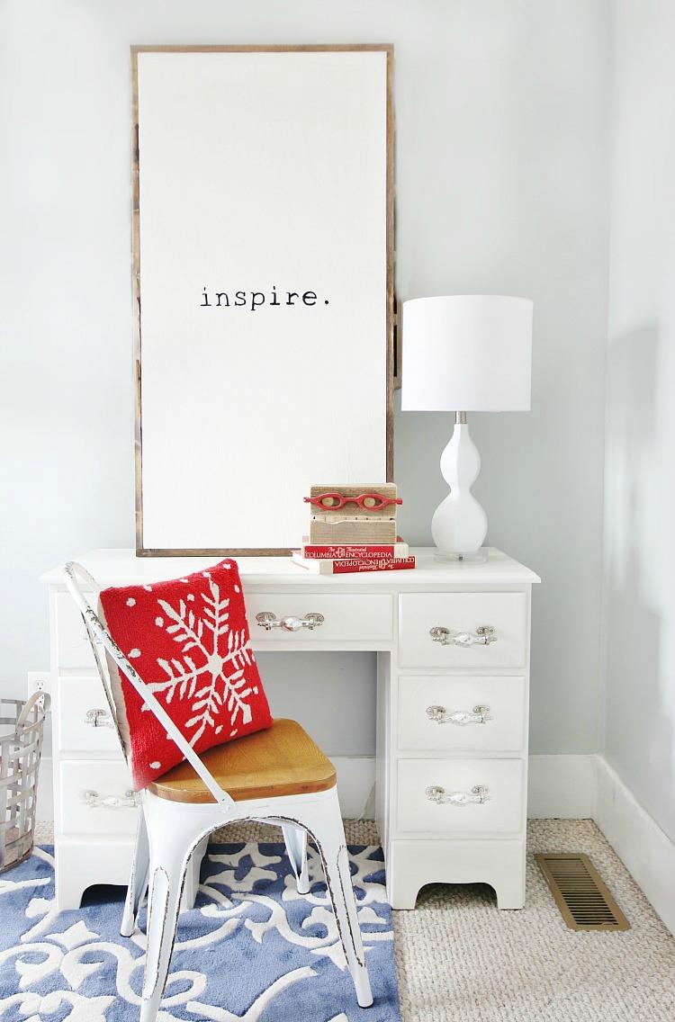 DIY Inspire Sign