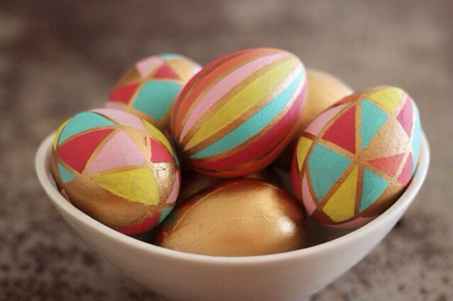 Kaleidoscope Easter Eggs by Sparkle Living