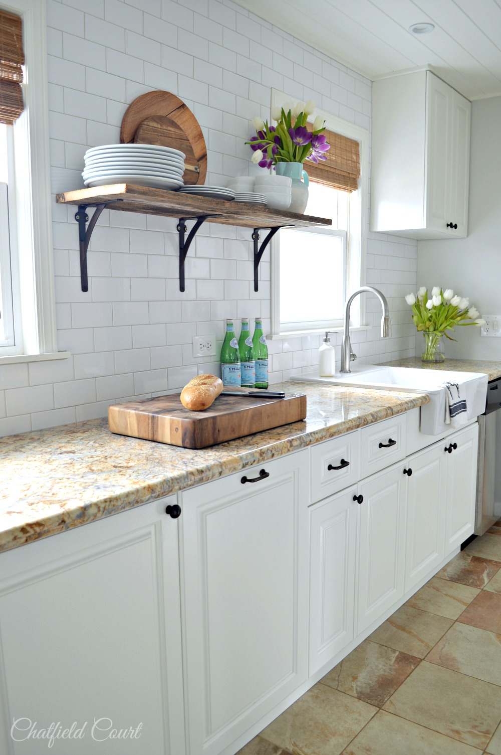 The Benefits Of Open Shelving In The Kitchen: 9 Fixer Upper Style Shelves