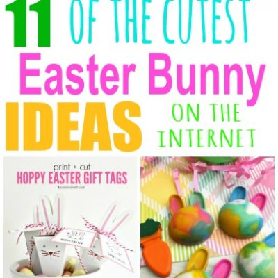 Adorable Easter Bunny Ideas