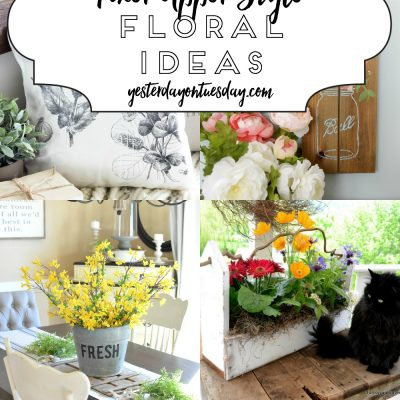 A Dozen Fixer Upper Style Floral Ideas