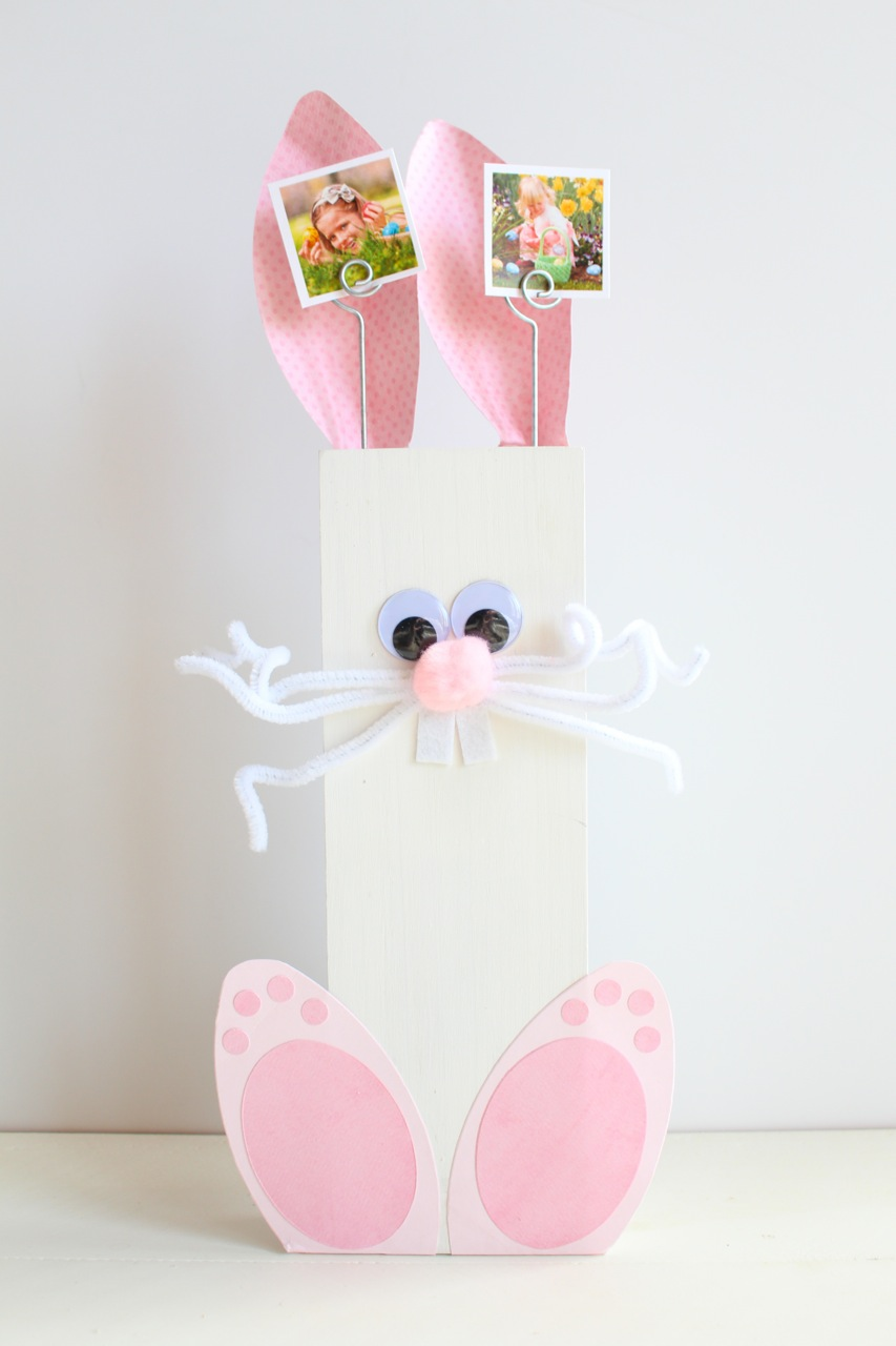 DIY Easter Bunny Picture Holder