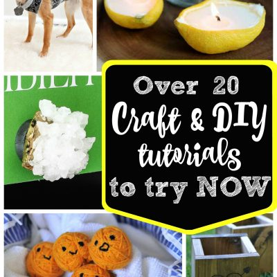 20 Craft Tutorials to Try Now