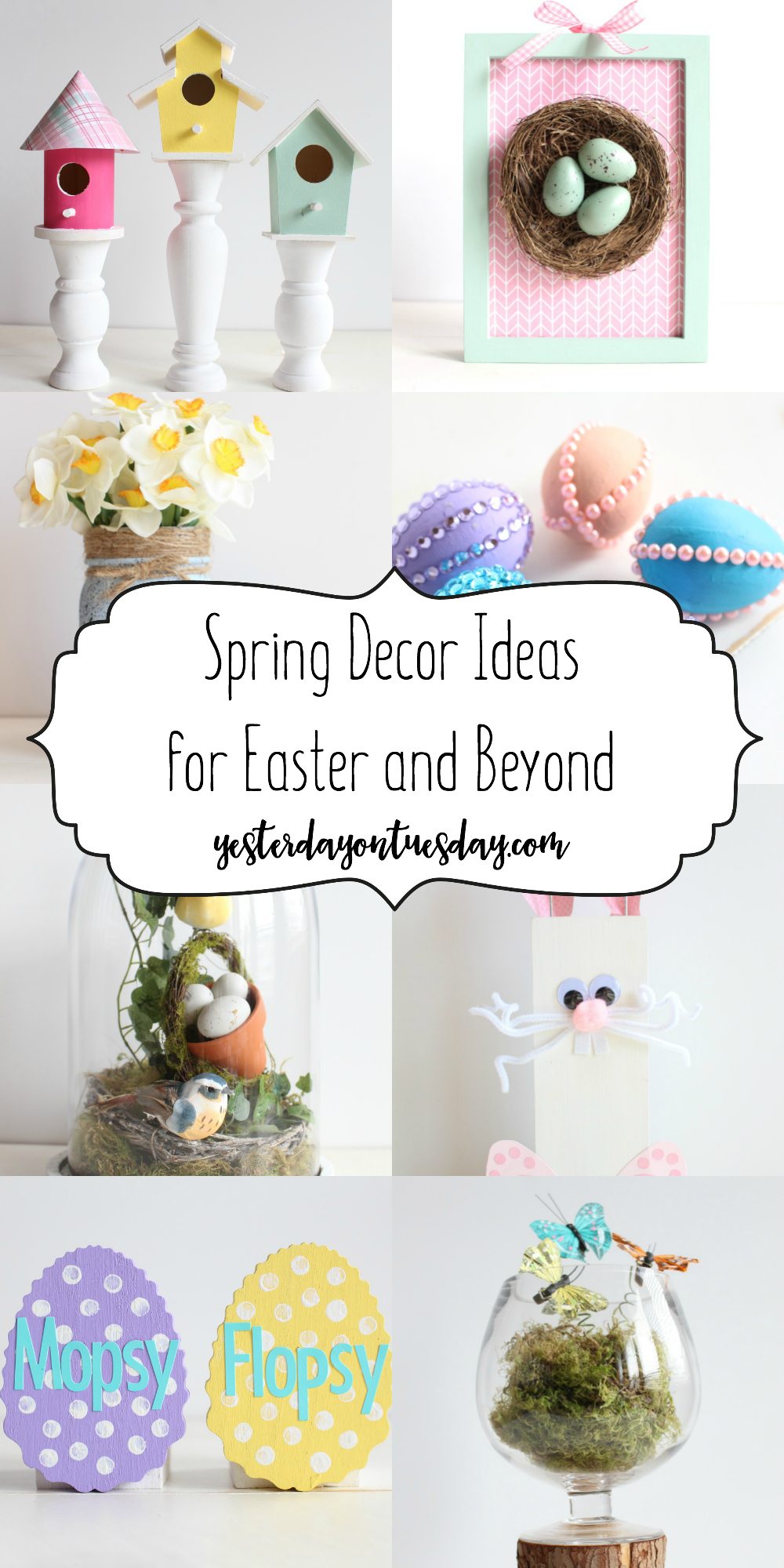 Easter and Spring Decor Ideas