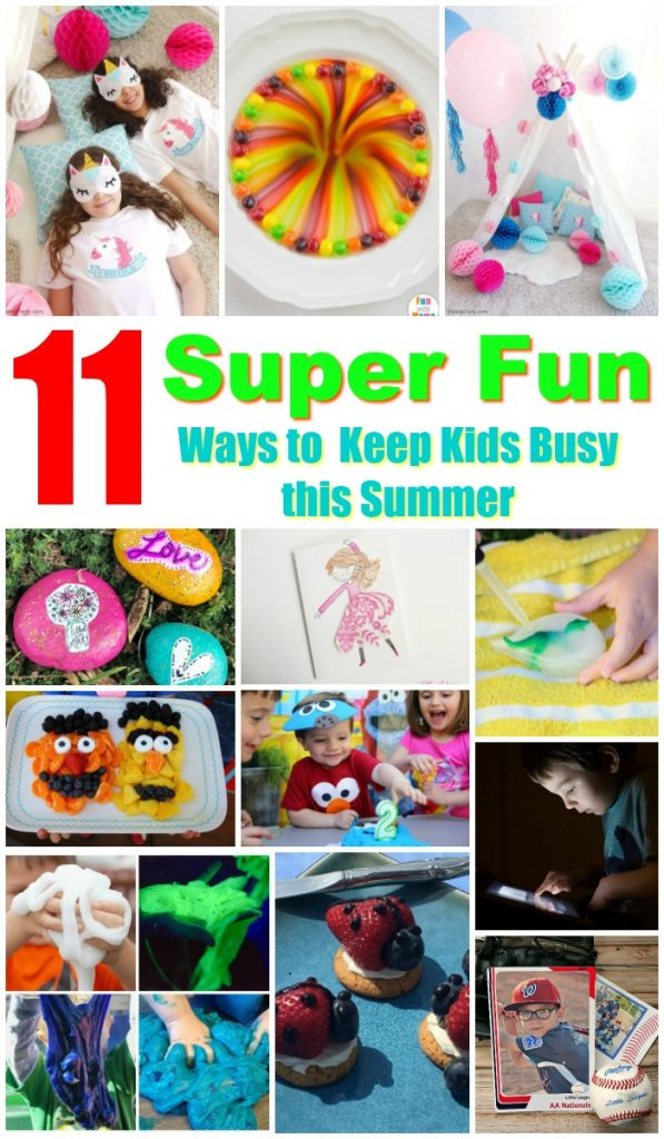 Great Kid's Activities for the Summer