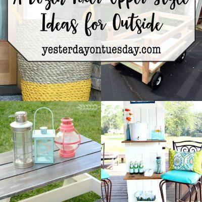 A Dozen Fixer Upper Style Ideas for Outside