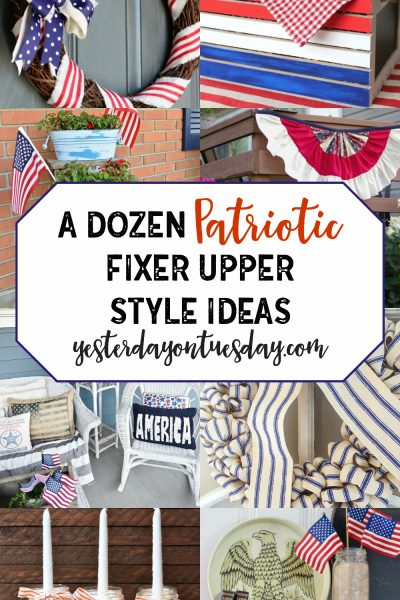 A Dozen Patriotic Fixer Upper Style Ideas