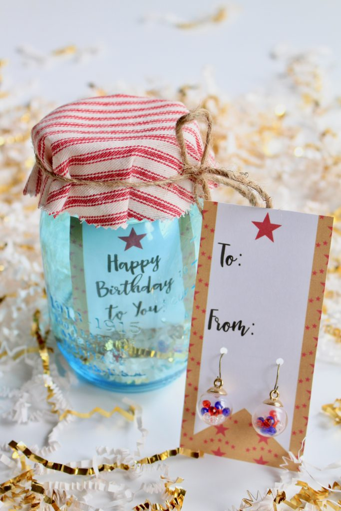 DIY Patriotic Earrings Present