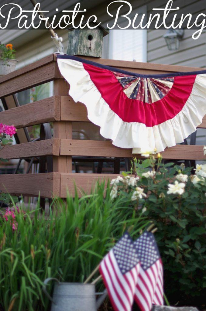 DIY Patriotic Bunting