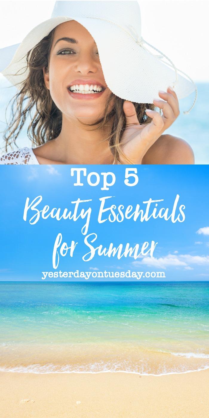 Top 5 Beauty Essentials for Summer