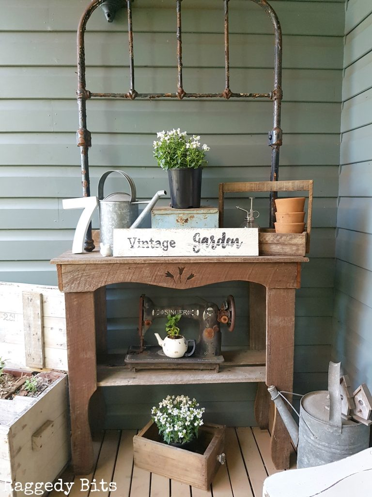 Vintage Farmhouse Garden Tour